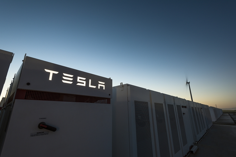 Tesla Battery Farm in Australia