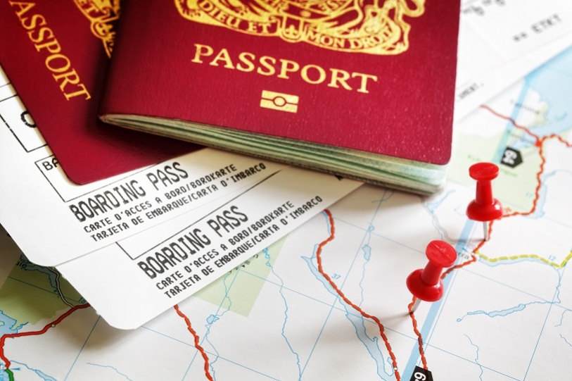British Passport and Travel Documents