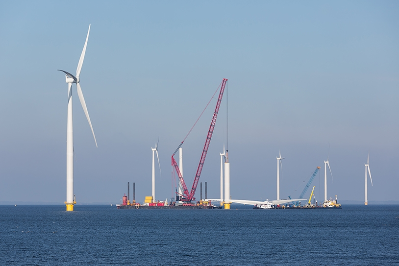 Construction of Offshore Wind Farm